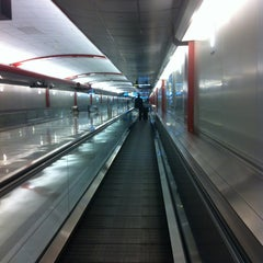 Photo taken at Moving Walkway by KimAllison on 4/20/2013