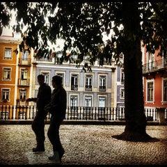 Photo taken at Jardim do Príncipe Real by José Manuel F. on 10/19/2012