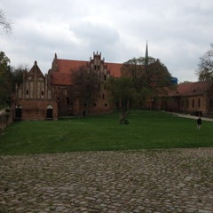 Photo taken at Zisterzienserkloster Chorin by Uli S. on 5/2/2013