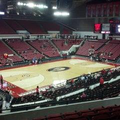 Photo taken at Stegeman Coliseum by Allison K. on 12/29/2012