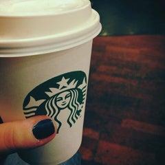 Photo taken at Starbucks by Sarah P. on 3/20/2013