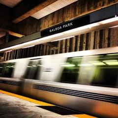 Photo taken at Balboa Park BART Station by Nico H. on 1/6/2013