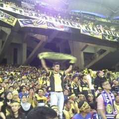 Photo taken at Stadium Nasional Bukit Jalil by Muaz M. on 12/1/2012