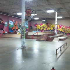 Photo taken at Cream City Skatepark by Alex C. on 11/18/2012