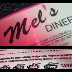 Photo taken at Mel's Diner by Jared L. on 10/1/2012