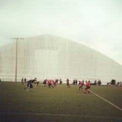 Photo taken at In the Net Sports Complex by Keila on 10/14/2012