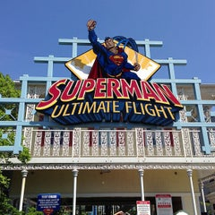 Photo taken at Superman: Ultimate Flight by Jim R. on 6/20/2013