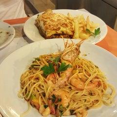 Photo taken at TM restaurant cafe by Наталья К. on 9/3/2015
