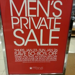 Photo taken at Macy's by Richard M. on 1/25/2014
