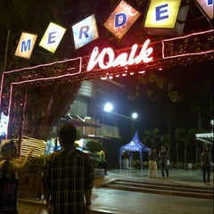 Photo taken at Merdeka Walk by Tyas S. on 11/16/2012