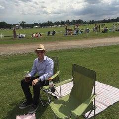 Photo taken at Royal Berkshire Polo Club by John W. on 8/16/2015