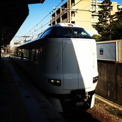 Photo taken at JR 宝塚駅 (Takarazuka Sta.) by Satoshi K. on 10/23/2012
