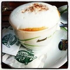 Photo taken at Café Amazon (คาเฟ่ อเมซอน) by BooK K. on 10/16/2012