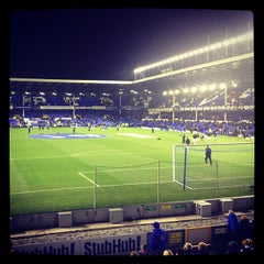 Photo taken at Goodison Park by Ioan S. on 11/28/2012