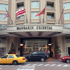 Photo taken at Mandarin Oriental, Washington D.C. by A.A on 1/17/2013
