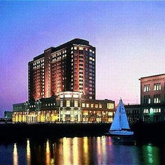 Photo taken at Seaport Boston Hotel by Tavenner B. on 12/7/2012