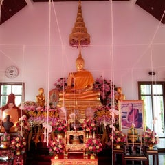 Photo taken at วัดพระราม ๙ กาญจนาภิเษก (Rama IX Golden Jubilee Temple) by Napas T. on 12/31/2012