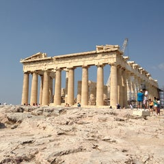 Photo taken at Ακρόπολη Αθηνών (Acropolis of Athens) by Ioannis on 6/28/2013