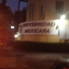Photo taken at Universidad Mexicana Polanco by Chuvi on 1/5/2013