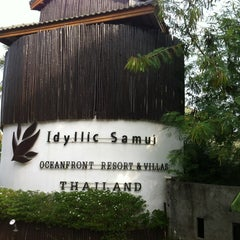 Photo taken at Idyllic Samui Resort by Anna D. on 2/24/2013