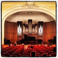 Photo taken at Московская государственная консерватория им. П. И. Чайковского by Pavel on 10/2/2012