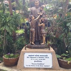 Photo taken at โรงเรียนสอนคนตาบอดพระมหาไถ่พัทยา (Pattaya Redemptorist School for The Blind) by Icezy... on 11/2/2014