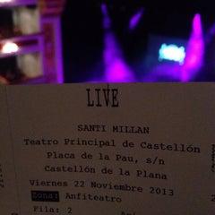 Photo taken at Teatre Principal by Rafa on 11/22/2013