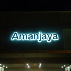 Photo taken at Amanjaya Mall by Fitry J. on 6/28/2013