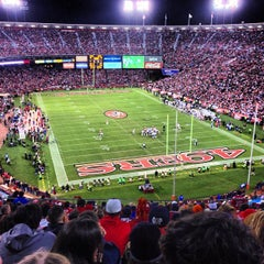 Photo taken at Candlestick Park by Jay R. on 11/20/2012