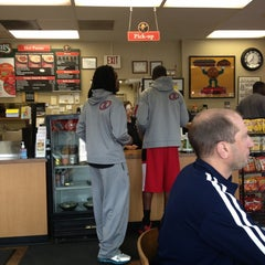 Photo taken at Goodcents Deli Fresh Subs by Casandra L. on 6/6/2013
