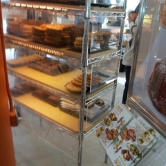 Photo taken at Au Bon Pain by MsCee E. on 9/20/2012