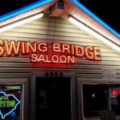 Photo taken at Swing Bridge Saloon by Roger Y. on 8/30/2014
