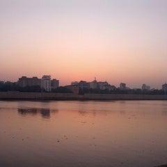 Photo taken at Sabarmati River Front by Arnav S. on 11/30/2012