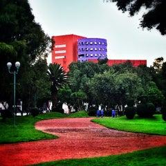 Photo taken at Centro Nacional de las Artes by Alex M. on 7/27/2013