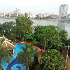 Photo taken at Sheraton Hanoi Hotel by 조홍상 on 6/7/2013