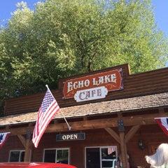 Photo taken at Echo Lake Cafe by J B. on 7/13/2014