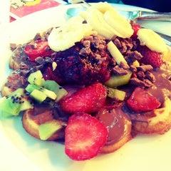 Photo taken at Kemal Usta Waffles by Didem G. on 7/5/2013