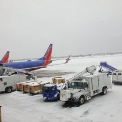 Photo taken at Buffalo Niagara International Airport (BUF) by Nick B. on 12/27/2012