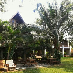 Photo taken at Baan Tye Wang, Ayuttaya by Carly R. on 2/7/2014