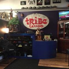 Photo taken at Tribe Tattoo by iDakota on 4/14/2015