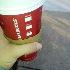 Photo taken at Starbucks by Jen B. on 12/28/2012
