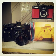 Photo taken at Lomography Gallery Store Santa Monica by Vitali K. on 11/25/2012