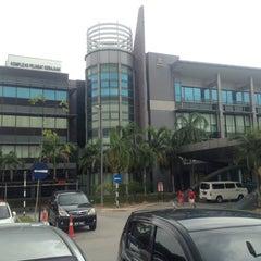 Photo taken at Kompleks Pejabat Kerajaan Daerah Petaling (Pejabat Daerah Petaling) by JYZ on 3/24/2015