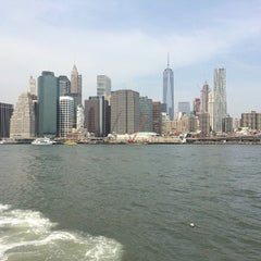 Photo taken at East River Ferry - Wall St/Pier 11 Terminal by Katherine on 6/12/2015
