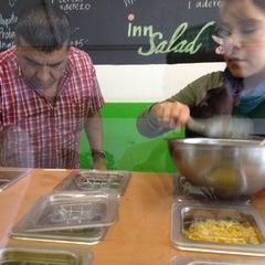 Photo taken at Inn Salad by Luis O. on 9/19/2012
