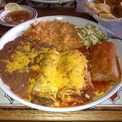 Photo taken at Azteca Mexican Restaurant by Jimmy S. on 12/11/2012
