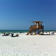 Photo taken at Coquina Beach by Clive M. on 2/11/2013