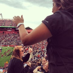 Photo taken at High Point Solutions Stadium by Larry M. on 10/6/2012