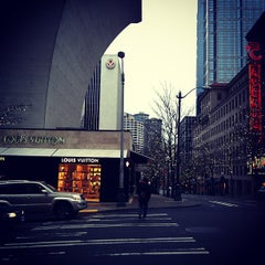 Photo taken at Louis Vuitton Seattle by Katya G. on 1/7/2013