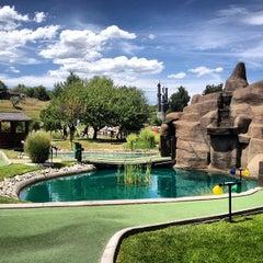 Photo taken at Mulligans Golf & Games by Jeff W. on 8/4/2013